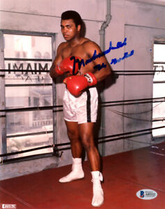 "Muhammad Ali Autographed Signed 8x10 Photo ""The Greatest"" Beckett COA A85322"