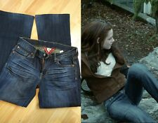 Bella Swan Lucky Brand dulce n bajo Jeans Tamaño 26 Crepúsculo Usado