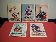 1995-96 Pannini Stickers Winnipeg Jets Team Set Selanne Khabibulin