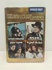 Silver Screen Icons: Spencer Tracy (DVD, 4-Disc Set) Greatest Classic Legends