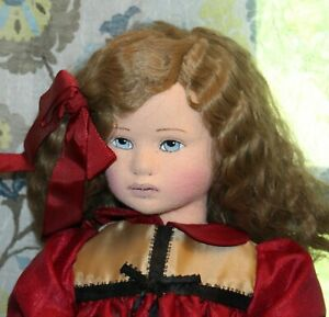 CARLA THOMPSON Boxed Cloth Doll MARY CLAIRE 386/1000 EXCLUSIVELY YOURS
