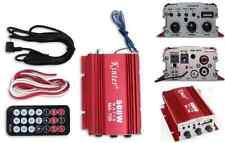Amplificatore per auto,moto,barca.2 canali,500w.Amplifica 500 Watt audio casse!!