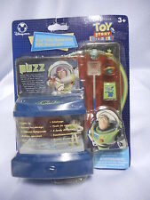 RARE Disney Store Tiny Tank Aquarium TOY STORY Buzz Lightyear  Aliens MINT