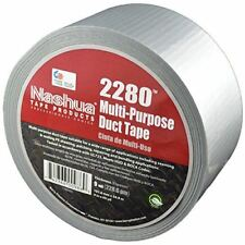 NASHUA 2280 Silver Duct Tape, Bulk Pack, Full Case, 72mm x 55M, 16 Rolls
