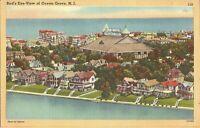 Ocean Grove, NEW JERSEY  Birdseye, Auditorium, Atlantic Ocean, Wesley Lake LINEN