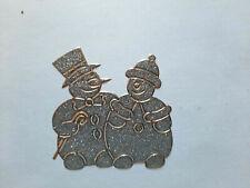 Stickerbogen, Weihnachten, Christmas, Schneemann, Glitzer, Silber, Nr. 7075