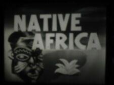 16mm Native Africa Castle Films Silent 400'