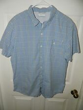 """COLUMBIA"" Men's Sz Large Shirt in Superior condition  Save A lot"