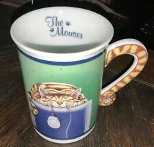 """Comical Cats Coffee Mug Gary Patterson """"The Mouser� Danbury Mint Collectible Cup"""