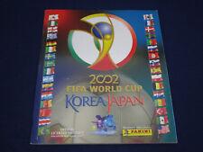 Panini Album WM World Cup Korea Japan 2002,komplett/complete,very good condition