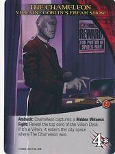 CHAMELEON Upper Deck Marvel Legendary NOIR VILLAIN GOBLIN'S FREAK SHOW
