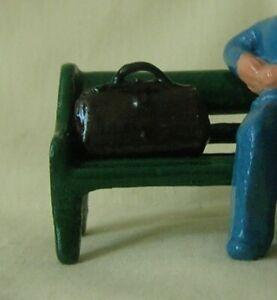 Satchel or Brief Bag, Standard Gauge train station baggage/luggage, Reproduction