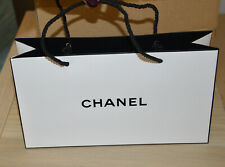 Set of 12 authentic Chanel paper bags small size new in box