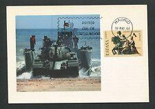 Spain Mk 1984 ejército military tanques warship Tank maximum card mc cm d4549