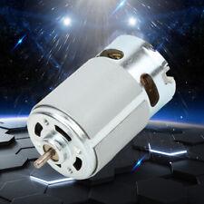 Rs 550 Motor 18v 12 20 Volt Dc 22k Rpm Torque Drill Robot Electric Round Shaft