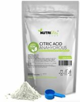 100% PURE CITRIC ACID ANHYDROUS -KOSHER/PHARMACEUTICAL USP32 GRADE- NONGMO USA
