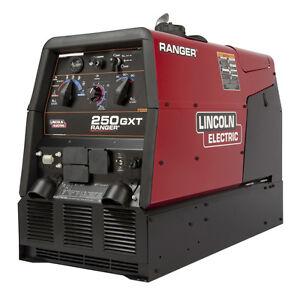 Lincoln Ranger 250 GXT Welder K2382-4 with EFP