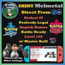 SHINY Melmetal MAX IV Pokemon Sword Pokemon Shield  ✨ FREE Master Ball! ✨