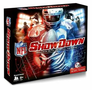 NEW Showdown NFL Football Board Game by Buffalo Games - Includes All 32 Teams
