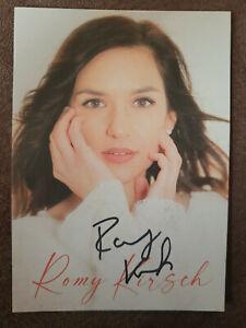 ROMY KIRSCH Autogramm signiert handsigniert