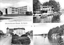 AK, Wusterhausen Dosse Kr. Kyritz, vier Abb., 1983