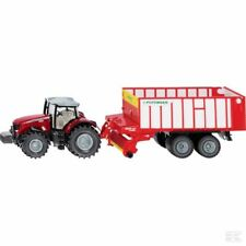 Siku Massey Ferguson 1:50 Scale Model Tractor With Pottinger Trailer Collectable