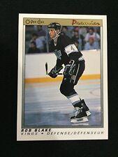 ROB BLAKE ROOKIE O-PEE-CHEE PREMIER 1990-91 LA KINGS RC HOCKEY CARD