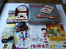 Nintendo Famicom NES Console,RF switch,3 games,RARE Flyer,Boxed set/Tested-X6-