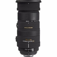 SIGMA 50-500mm F4.5-6.3 APO DG OS HSM LENS FOR SONY A MOUNT & SANDISK 32GB SD