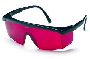 Occhiali a lente rossa per distanziometri misuratori laser LEICA art.723777