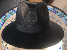 Stylish Fedora Made In italy Black