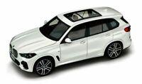 BMW X5 G05 40i Alpine White Model Car 1:18 Genuine New