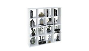 BOOKSHELVES Room Divider Smart Cubic 16 Sections by Polini Home FREE Delivery