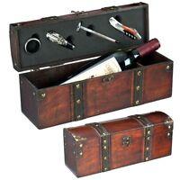 Exklusiver Weinkoffer für 2 Weinflaschen in Wildlederoptik