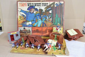TIMPO 259 AMERICAN 7th CAVALRY WILD WEST FORT WORTH SET BOXED nz