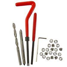 M5 X 0.8 Mm Rosca Tap reparación Cortador Kit Helicoil 25pc Set rosca dañada an075