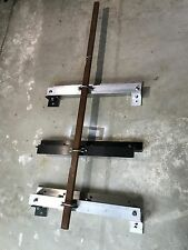 Antenna mast wall mounting brackets