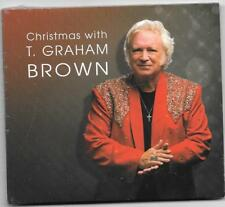 """T. GRAHAM BROWN, CD """"CHRISTMAS WITH T. GRAHAM BROWN"""" NEW SEALED"""