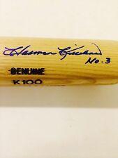 Harmon Killebrew No. 3 Autographed Louisville Slugger Bat - JSA Letter LOA
