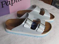 Nouveau Papillio Arizona Femmes Bébé Bleu Plateforme Mules Sandales Taille UK 7.5 EU 41