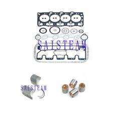 ISUZU 4LE1 Full Gasket Set Main Bearing Rod Beaing for Excavator Genearto etc