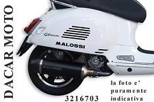 3216703 MARMITTA MALOSSI VESPA GTS Super 125 ie 4T LC euro 3 <-2013 (M455M)