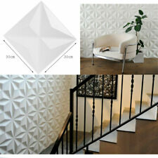 12PCS 3D Wall Panel DIY Home Decor Ceiling Tiles  Decal Wallpaper Background
