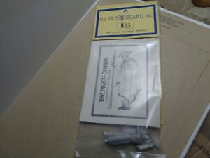 The Old Guard Inc M93 warrior archer Greek 325BC unpainted, lead 54mm soldier