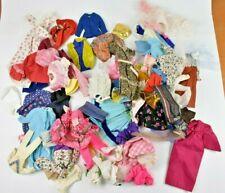 Vintage Barbie Clothes Lot of 78 Dresses Blouses Pants Sweaters Francie Skipper