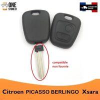 Boîtier Coque télécommande clé plip pour Citroen  Xsara Picasso berlingo