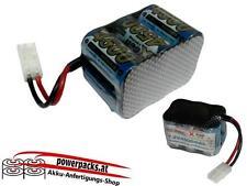 TOP Leistungs - Fahrakku X-Cell SCR 7.2V4500 mAh 3x2 , Stecker frei wählbar...