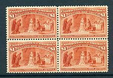 Scott #241 Columbian Mint Block (Stock #241-25)