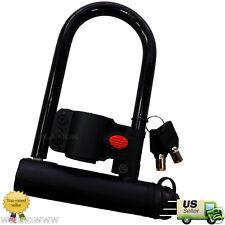 "Anti-thief Tool Heavy Duty U Shape Motorcycle Bicycle Lock 3""X6"""