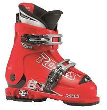 ROCES größenverstellbare Skischuh 6in1 IDEA Kinder 25-29 rot schwarz 2 Schnallen